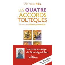 livre des 4 accords toltèques